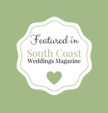 Featured in South Coast Weddings Magazine