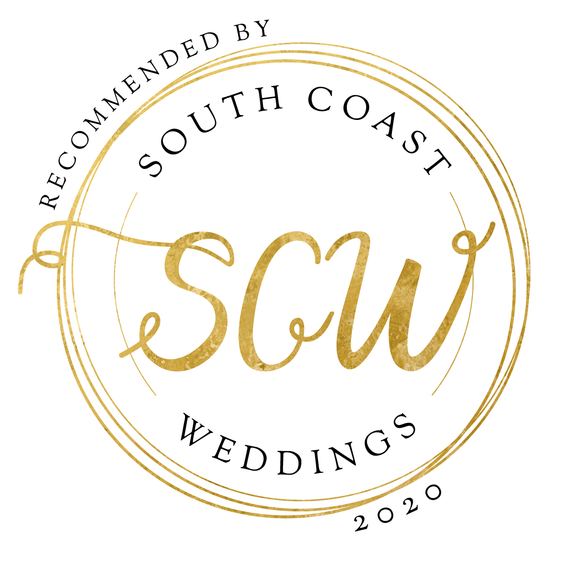 Recommended Supplier of South Coast Weddings Magazine 2020